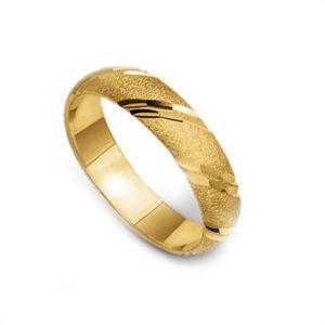 Obrączka złota